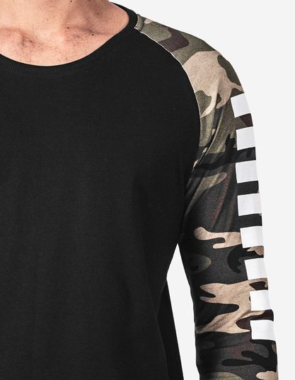 4-T--shirt-militar-manga-estampada