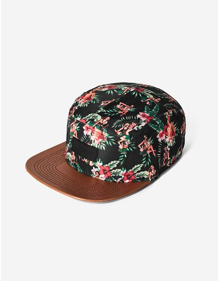 FIVE PANEL PINUP TROPICAL 300035