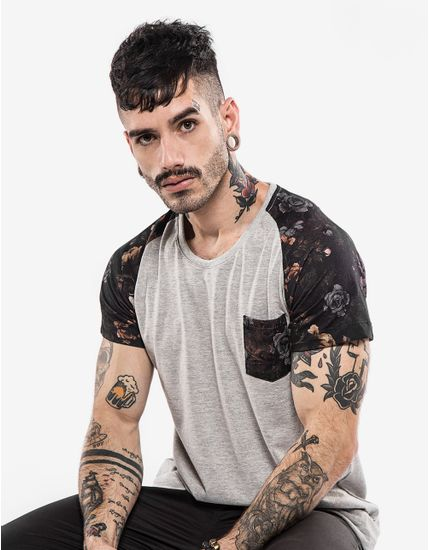 2-hermoso-compadre-camiseta-raglan-mescla-manga-floral-101853