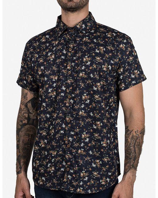3dab7586fa Camisa micro estampa floral - Hermoso Compadre