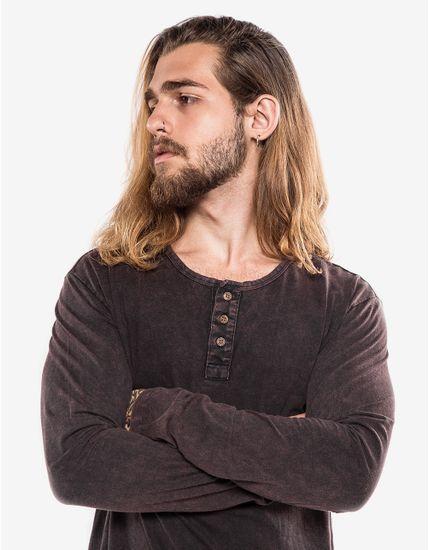 2-hover-hermoso-compadre-camiseta-manga-longa-henley-preta-marmorizada-102591