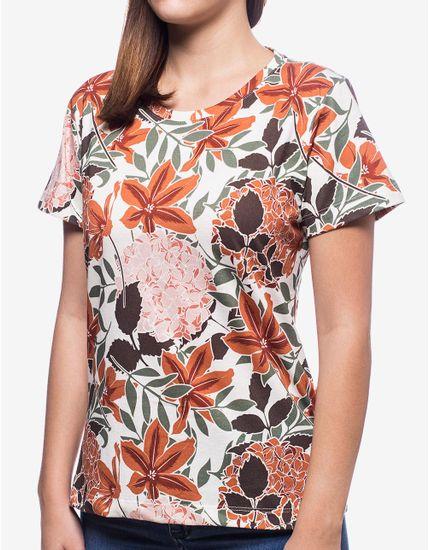 1-t-shirt-feminina-orange-flowers-800084