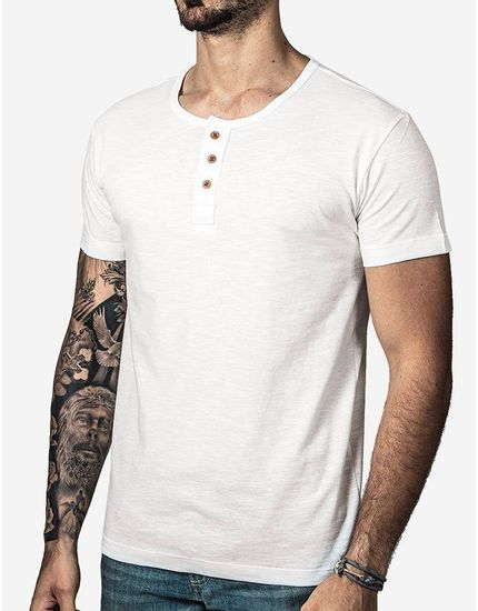 T-SHIRT-HENLEY-OFF-WHITE-100069-Branco-P