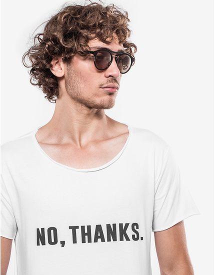T-SHIRT-NO-THANKS-103441-Branco-P