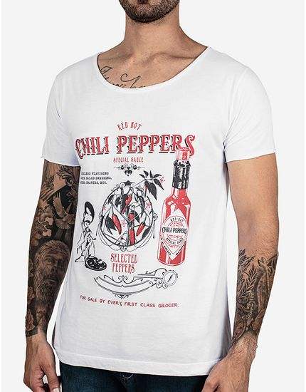 T-SHIRT-RED-HOT-CHILLI-PEPPERS-102738-Branco-P