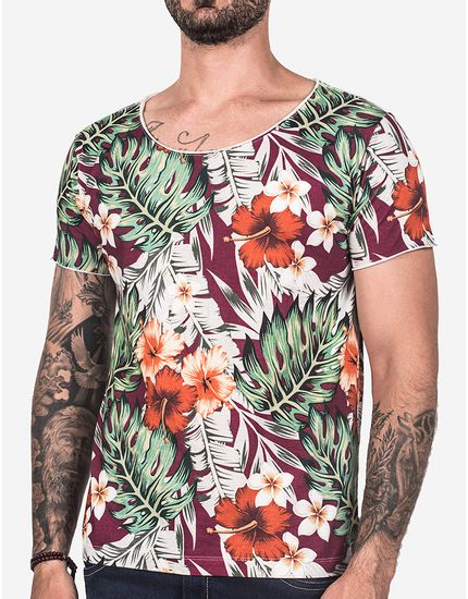 T-SHIRT-TROPICAL-VINHO-102449-Vinho-P