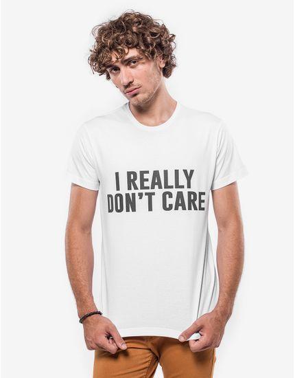 T-SHIRT-I-REALLY-DON-T-CARE-103440-Branco-P