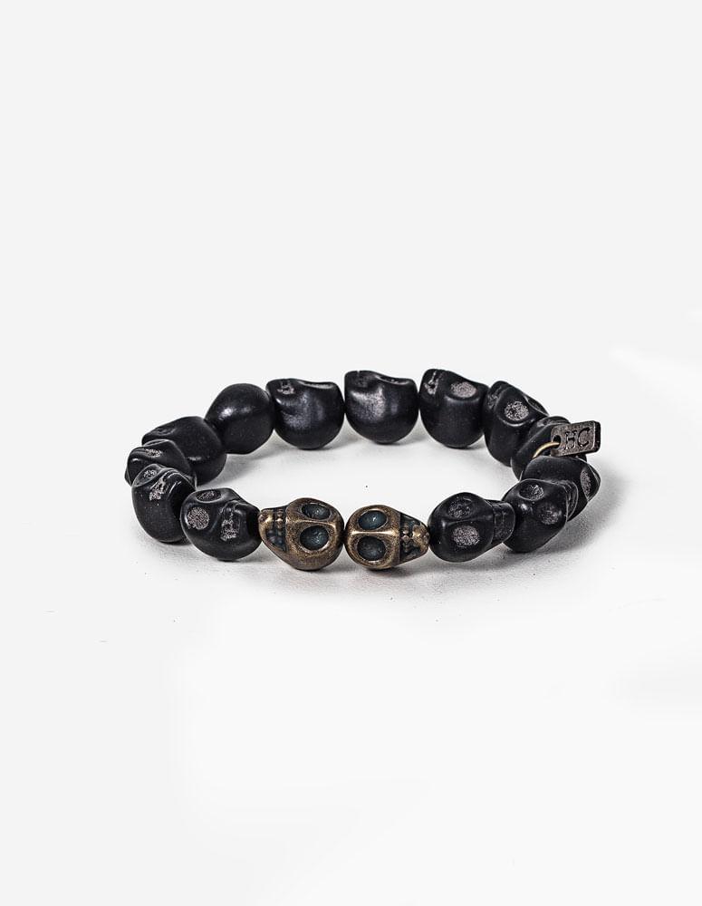 PULSEIRA BLACK SKULL 0319