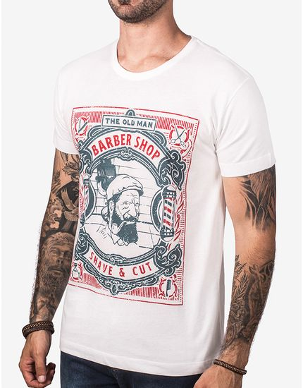 T-SHIRT-THE-OLD-MAN-BARBER-SHOP-103246-Bege-P