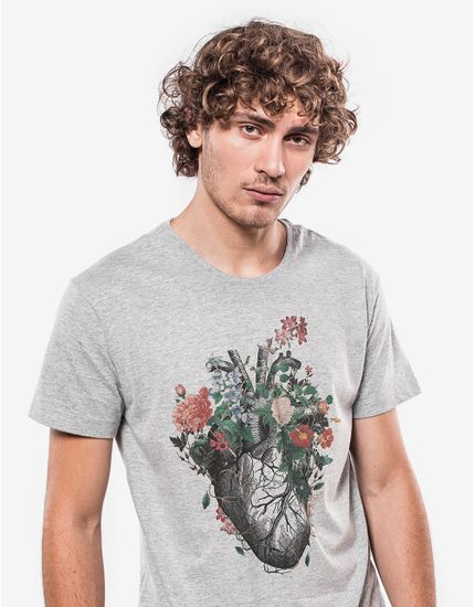 T-SHIRT-FLOWERISH-HEART-103457-Cinza-M