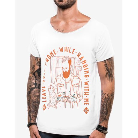 T-SHIRT-LEAVE-YOUR-PHONE-103761-Branco-PP