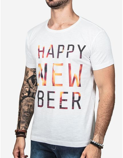 T-SHIRT-HAPPY-NEW-BEER-100306-Branco-P