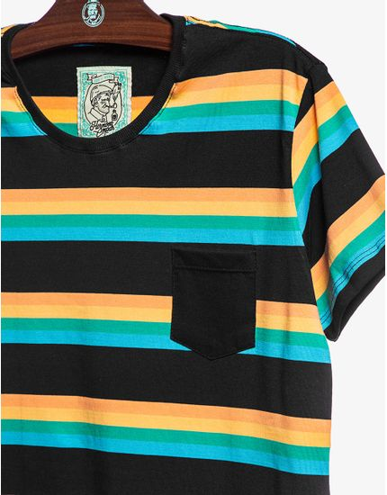 T-SHIRT-LOUISIANA-STRIPES-104231-Preto-P