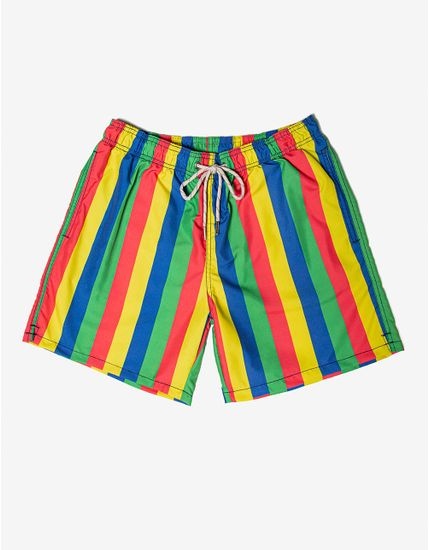 SHORT-FRESH-STRIPES-400157-Amarelo-P