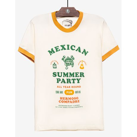T-SHIRT-MEXICAN-SUMMER-PARTY-104252-Bege-P
