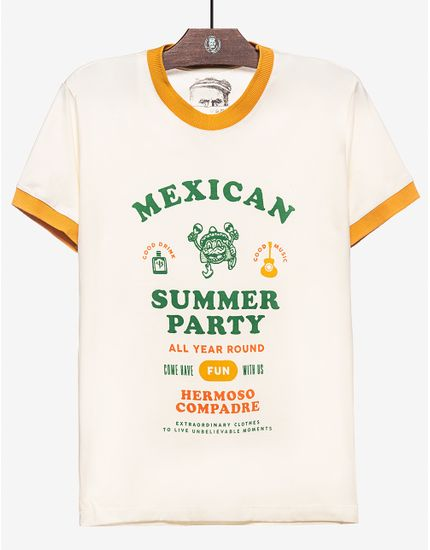 T-SHIRT-MEXICAN-SUMMER-PARTY-104252-Bege-M