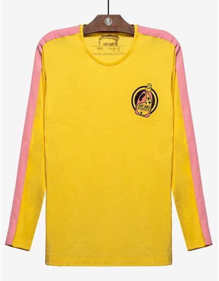 1-t-shirt-manga-longa-amarela-com-listra-rosa-104459