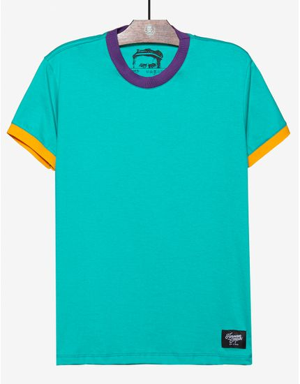 1-t-shirt-turquesa-gola-e-punhos-coloridos-104584