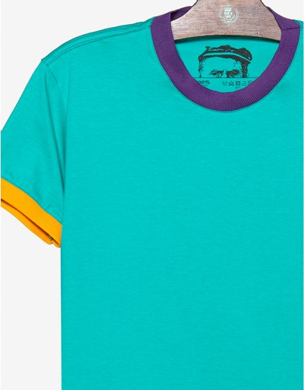 3-t-shirt-turquesa-gola-e-punhos-coloridos-104584