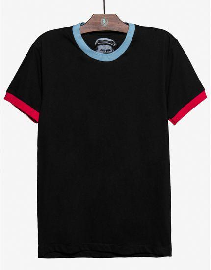 1-t-shirt-preta-gola-azul-e-punhos-cor-de-rosa-104572
