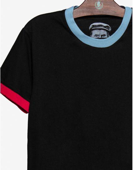 3-t-shirt-preta-gola-azul-e-punhos-cor-de-rosa-104572